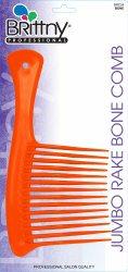 BRITTNY Jumbo Rake Bone COMB