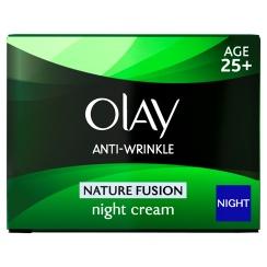 OLAY ANTI-WRINKLE NATURE FUSION NIGHT CREAM
