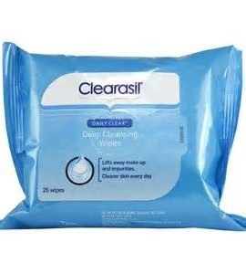 CLEARASIL DEEP CLEANSING WIPES