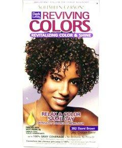 Ebony hair dye