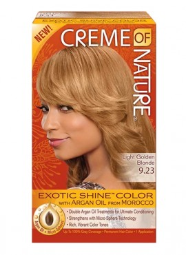 Creme Of Nature Hair Color Honey Blonde 10 0 Jannysbeauty