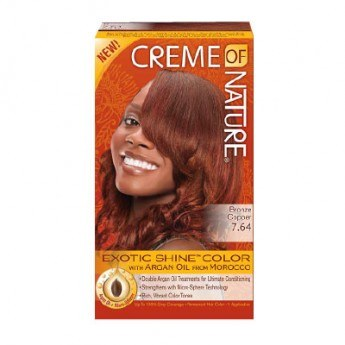 Creme Of Nature Exotic Shine Hair Color Bronze Copper 7 64
