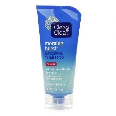 Clean And Clear Morning Burst Detoxifying Facial Cleanser