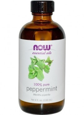 NOW       (100% Pure Peppermint Essential Oil)