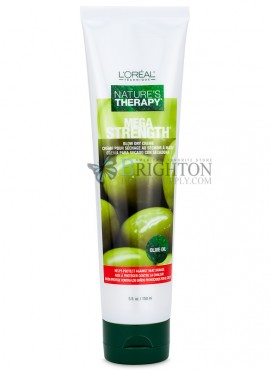 L'Oreal Nature's Therapy Mega Strength Blow Dry Creme – Olive Oil
