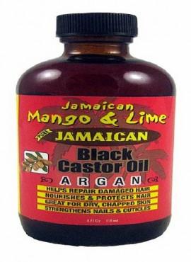 Jamaican Mango and Lime Black Castor-Argan Oil 4 OZ