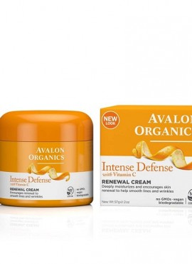 Avalon Organics Intense Defence Renewal Cream With Vitamin C