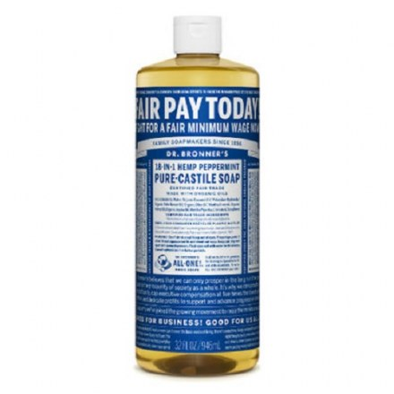 Dr. Bronner's Organic Castile Liquid Soap – Peppermint