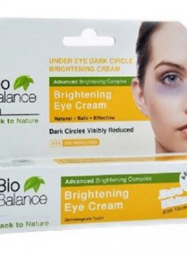 BIO BALANCE UNDER EYE DARK CIRCLE BRIGHTENING CREAM