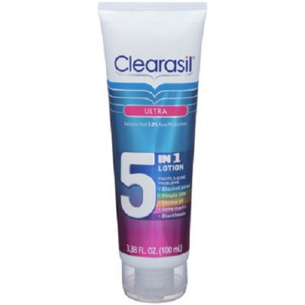 Clearasil Ultra 5-in-1 Exfoliating Wash