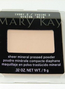MARY KAY SHEER MINERAL PRESSED POWDER