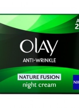 OLAY ANTI-WRINKLE NATURE FUSION NIGHT CREAM