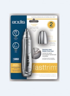 Andis Fast Trim Personal Trimmer for Nose, Ears, and Eyebrows
