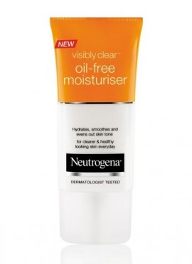 Neutrogena visibly clear oil free moisturizer