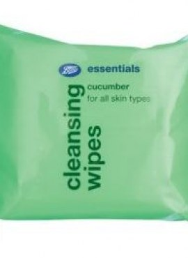 BOOTS CLEANSING WIPES