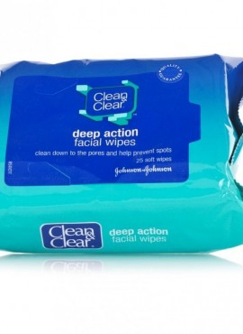 CLEAN & CLEAR FACIAL WIPES
