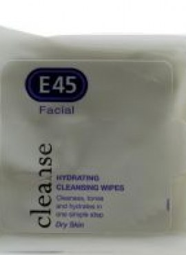 E45 FACIAL CLEANSING WIPES