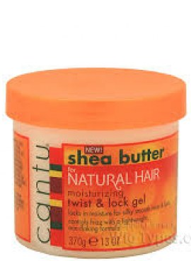 Cantu Shea Butter For Natural Hair Moisturizing Twist & Lock Gel,13 oz