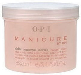 Opi manicure skin renewal scrub