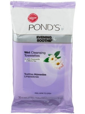 Ponds evening soothe wet cleansing towelettes