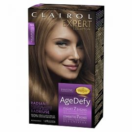 Clairol Age Defy Expert Collection Hair Color, 6G Light Golden Brown