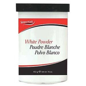 SUPER NAILS WHITE POWDER