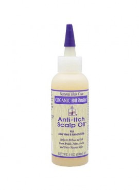 ORGANIC ANTI-ITCH SCALP OIL