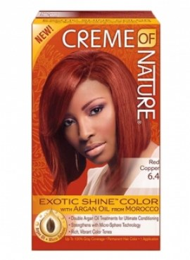 Creme of Nature Hair Color RED COPPER 6.4