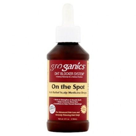 Groganics On The Spot Scalp Drops