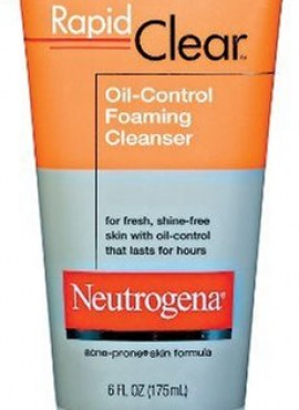 NEUTROGENA OIL OIL-ELIMINATING FOAMING CLEANSER