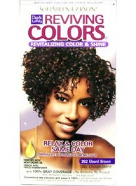 Dark & Lovely Hair dye Reviving Color.Ebony brown