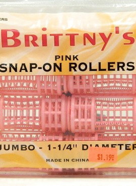 BRITTNY SNAP-ON ROLLERS JUMBO