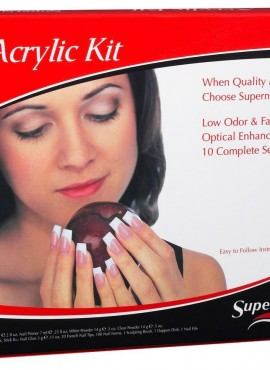 SUPER NAIL FRENCH ACRYLIC KIT