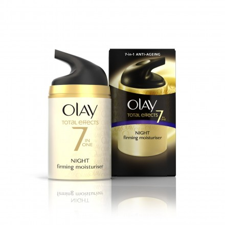 OLAY TOTAL EFFECTS NIGHT MOIST.
