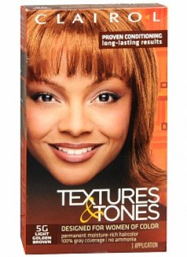 Clairol Textures & Tones * 5g-light Golden Brown