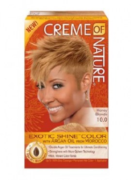 Creme Of Nature Exotic Shine Color Honey Blonde 10.0