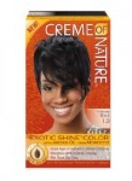 Creme Of Nature Exotic Shine Color Intense Black 1.0