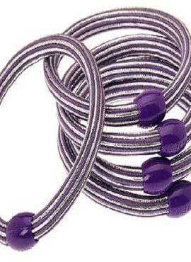 Finest Hair Accessory Solar Pony-Purple