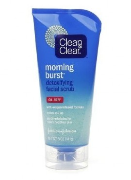 Clean & Clear Morning Burst Detoxifying Face Scrub