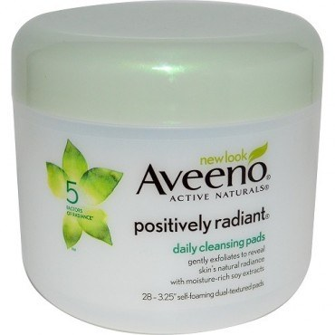 Aveeno Positively Radiant Cleansing Pad