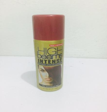 Temporary Spray-On Hair Colour – Rockstar Red