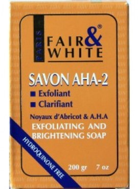 FAIR & WHITE AHA-2 SOAP