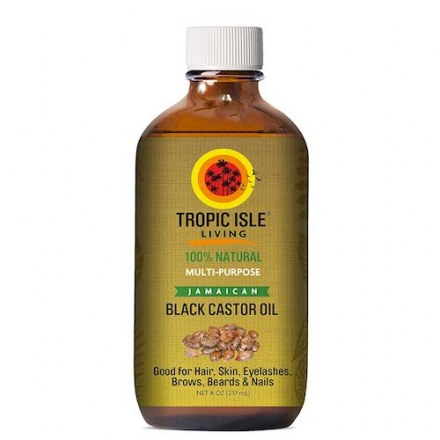Tropic Isle Jamaican Black Castor Oil – 8oz