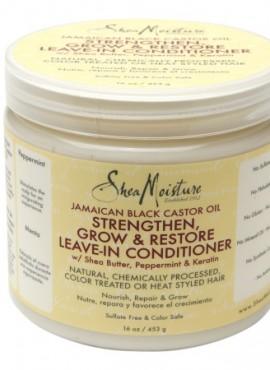 Shea Moisture Jamaican Black Castor Oil Strengthen Grow & Restore Leave-in Conditioner