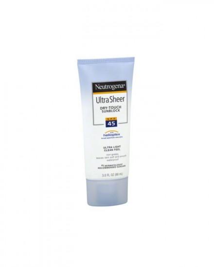 Neutrogena Ultra Sheer Dry-Touch Sunscreen, SPF45