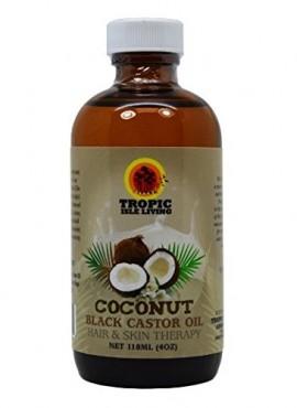 Tropic Isle Living Jamaican Coconut Black Castor Oil