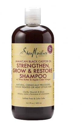 Shea Moisture Jamaican Black Castor Oil Strenghten- Grow & Restore Shampoo