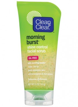 Clean & Clear Morning Burst Shine Control Facial Scrub