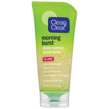 Clean & Clear Morning Burst Shine Control Facial Scrub
