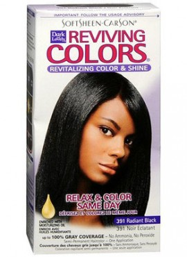 Dark & Lovely Reviving Colors Revitalizing Color & shine hair Color